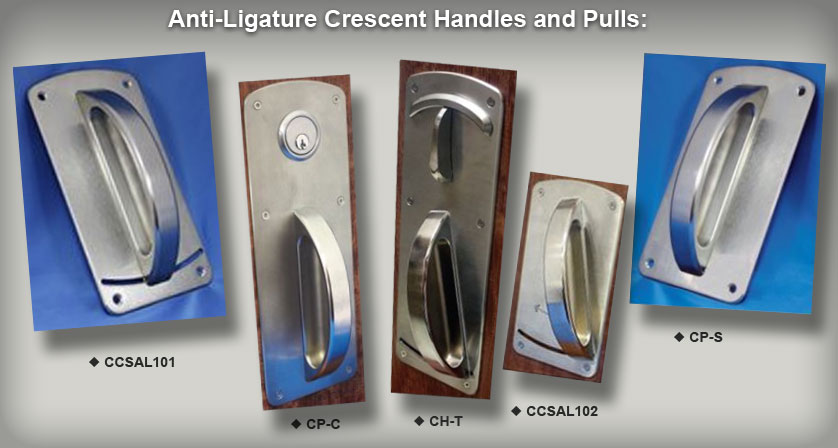 Suicide Prevention security door handles - Including CCSAL101